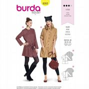 6353 Burda Pattern: Misses' Dress or Tunic